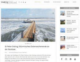 making-miles ist ein Reiseblog, der stetig wächst. Hier sind viele kleiner Funktionen wie das Anmelden zum Newsletter oder auch schreiben von Kommentaren mit eingebaut. Außerdem finden sich einige interaktive Elemente, die die Seite zusätzlich hervorheben.