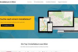Webdesign Schiff.at aus Wien